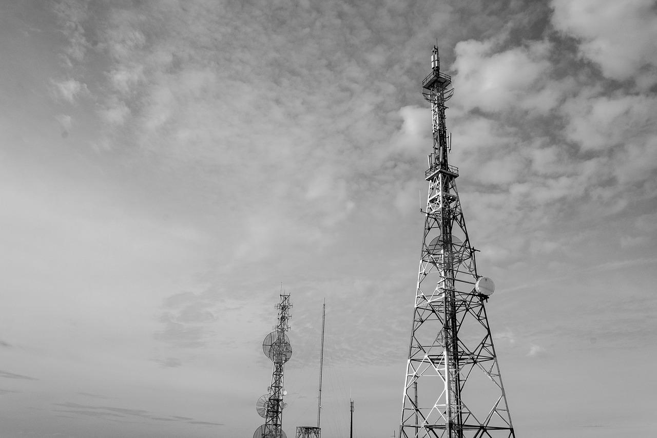 anteny krajobraz
